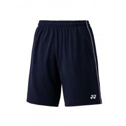 Yonex short 15057 - teamwear - wit - blauw - zwart