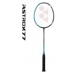 Yonex Astrox 77 - badmintonracket - blauw/geel - met racketreview
