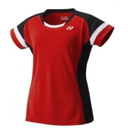 Yonex dames TEAM shirt YW0001EX rood
