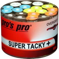 Pro's Pro overgrips super tacky + assorti (60box / per stuk)