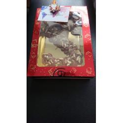 Bon Marie Chocolade letters - wit (CHEMPS)