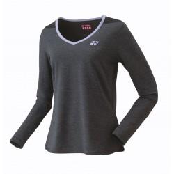 YONEX Tshirt Lady - 16366 zwart - long sleeves