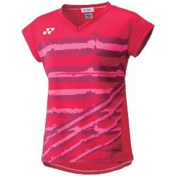 Yonex damesshirt rood 20349
