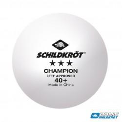 Donic Schildkröt Champion 3* Tafeltennisbal ITTF (3pcs)