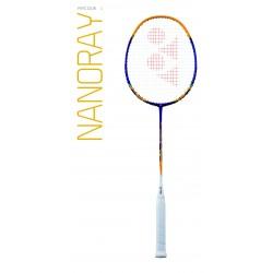 YONEX NANORAY-9 bespannen | goud/blauw |G4
