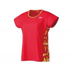 Yonex damesshirt - fel rood - 16442