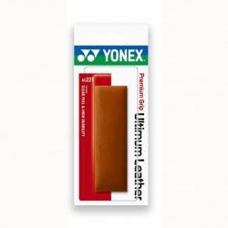 Yonex AC221 Premium leren grip - bruin - premium