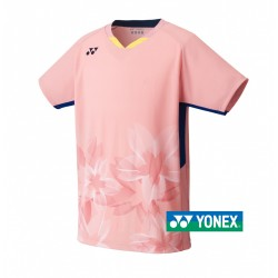 Yonex Japans Nationaal team polo - 10378 - cherry pink