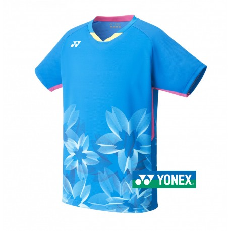 Yonex Japans Nationaal team polo | cherry pink