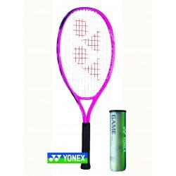 Yonex EZONE jr 25 alu - Deep pink - L0 - Yonex GAME tennisballen