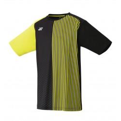 Yonex tournament style t-shirt - 16349 - zwart/geel