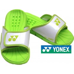 Yonex slippers - Wit/Lime - Maat 39-42