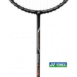 Yonex badmintonset ++ - 2 Carbonex Lite - koker Mavis 300 yellow - Yonex net