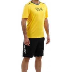 Drop Shot padel shirt - geel -maat XXL -