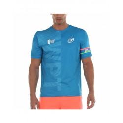 Bullpadel Salbur 2020 - blauw - t-shirt - maat L -