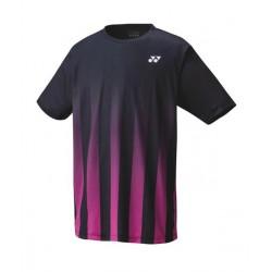 Yonex men's T-shirt 16435 - zwart/roze