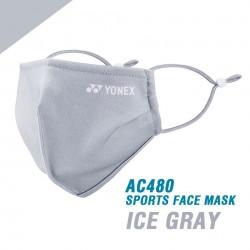 Yonex sports face mask / mondkapje - very cool - zwart of grijs