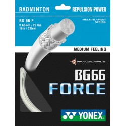 Yonex BG66 force - 10m - badmintonsnaar - power