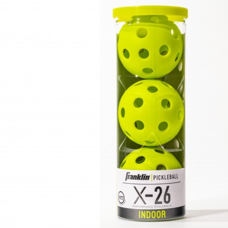 Franklin Pickleball X40 ballen | 3stuks optic geel