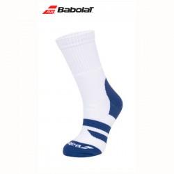 Babolat ondersteunende hoge sokken - big logo blauw of zwart