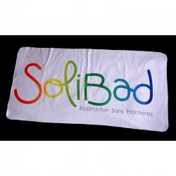 Solibad handdoek - wit - 100x50cm