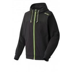 Yonex full zip hoodie - zwart / groen - maat XXL