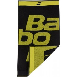 Babolat sport handdoek - zwart/geel - 100x50cm