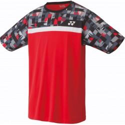 Yonex Sportshirt Heren 16370ex Rood Maat XL