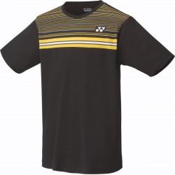YONEX 16347 Replica T-shirt - badminton / tennis - zwart/geel