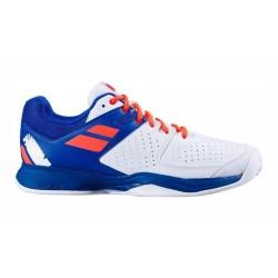 Babolat Propulsion Clay/Gravel heren tennisschoen - blauw/wit