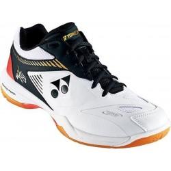 Yonex SHB65 Z2 - heren badmintonschoen - wit/zwart/oranje