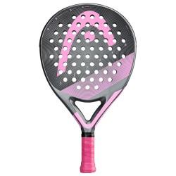 HEAD Graphene 360 +Zephyr padelracket - grijs/roze