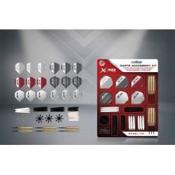 XQMax - 2 sets dartpijlen plus 90 pcs Darts Accessory kit - dartset - dartpijlen - cadeauset