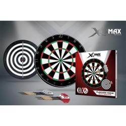 XQ MAX Dartbord - 2cm dik - met 2 sets stalen darts