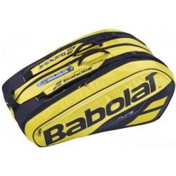 Babolat racketbag X12 - Pure Aero geel
