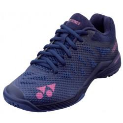 YONEX Aerus 3 blauw / paars dames badmintonschoen