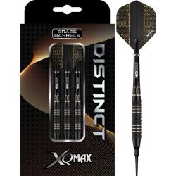 XQ MAX Distinct Brass SOFT TIP - zwart - 19 grams