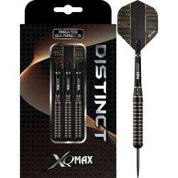 XQMax Distinct Dartpijlen M2 Black Brass - 19gram - soft tip