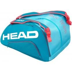 HEAD Tour TEAM MONSTERCOMBI - padel racketbag - blauw/pink