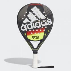 Adidas RX10 padelracket - zwart / rood