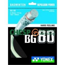 Yonex BG80 - coil 200m - badmintonsnaar - gevoel