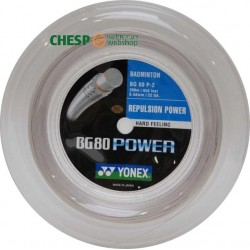 Yonex BG80 power - coil 200m - badmintonsnaar - power -