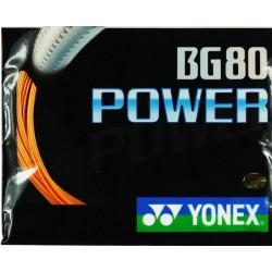 Yonex BG80 power -Yonex set 10m - badmintonsnaar