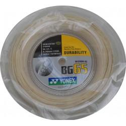 Yonex BG65- coil 500m - badmintonsnaar - duurzaamheid