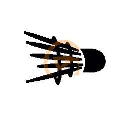 Shuttle Stencil / Logo voor op je bespanning