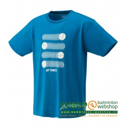 YONEX 16319 T-shirt Infinite Blue - French Open