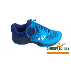 YONEX POWER CUSHION ECLIPSION2 CLAY BLUE (met gratis sokken)