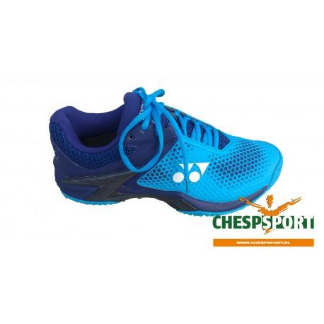 YONEX POWER CUSHION ECLIPSION2 CLAY BLUE (met gratis sokken)
