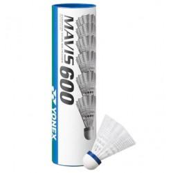 Yonex Mavis 600 nylon shuttle (wit - middel)