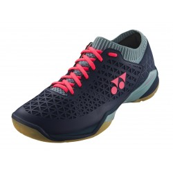 YONEX SHB-ECLIPSION Z MEN WIDE N/ICE BLUE (met gratis sokken)